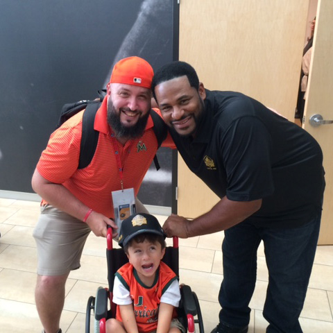 Hall of Fame 2) Ralph, Jerome Bettis & Xavier