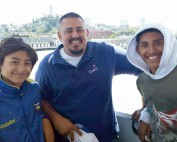 Phillip Padilla and 2 sons