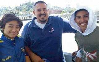 Phillip Padilla and 2 sons